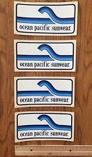 Ocean Pacific Vintage Op Shorts 80's Surf Surfing Sticker Lot Beach California