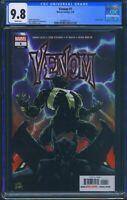 Venom 1 (Marvel) CGC 9.8 White Pages Donny Cates story Ryan Stegman art