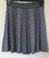 Fat Face Flare Abstract Print Panel Skirt Size 10