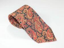 Men's VINTAGE KENNEDY'S Silk NECKTIE Tie PAISLEY DECOR 1960's 70's