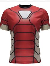 NEW Spyder s/s Tech Tee Men's Large Short Sleeve T-Shirt Marvel Iron Man Avenger