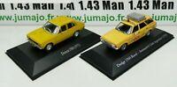 LOT 2 1/43 SALVAT Vehiculos Inolv. Servicios: Dodge 1500 et 1500 Rural ACA