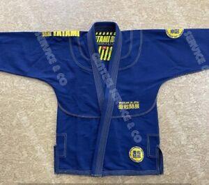 Best Quality Brazilian jiu jitsu Gi Tatami blue bjj kimono bjj uniform /A0 Size