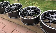 9 + 9,5 X 20 Zoll BBS CH-R II CH610 CH611 schwarz Tesla S X Felgen Wheel Set