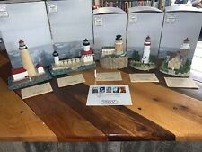 Set Of 5 Harbour Lights Great Lakes Lighthouse Stamp Series 1995 All #A2244 Nb