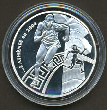 France 2003 1 1/2 Euro Silver Coin - 2004 Olympic Games in Athens Greece COA