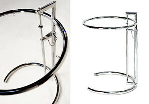 Tavolino Design Eileen Gray . Regolabile in altezza