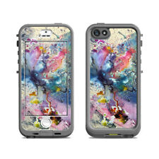 Skin for LifeProof Nuud iPhone 5S - Cosmic Flower - Sticker Decal