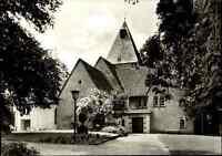 Kirchen Motiv-Postkarte ~1950/60 Evangelische Kirche in BAD MEINBERG ungelaufen