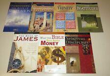 Lot of 7 by Rose Publishing - Bible, Trinity, Beatitudes, Spiritual, Revelation
