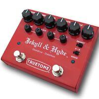 TRUETONE V3 Jekyll & Hyde Distortion Guitar Effects Pedal Visual Sound NEW
