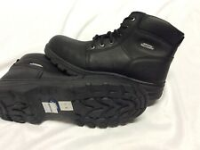 Skechers Men's WaterProof Work Boots Size 12 Steal toe.AirCooled MemoryFoam.Emi3