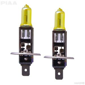 22 13401 Piaa 22 13401 H1 Solar Yellow Replacement Bulb