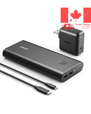 Portable Charger Power Bank with Dual Input Port and Double Speed Recharging