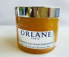 Orlane Paris Body Scrub w Essential Oils, 6.7 oz   Sealed Box!