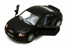 "Brand New 5"" Kinsmart Audi TT Coupe Diecast Model Toy Car 1:32 Black"