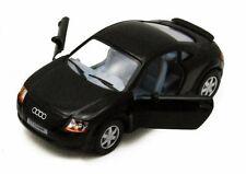 """Brand New 5"""" Kinsmart Audi TT Coupe Diecast Model Toy Car 1:32 Black"""