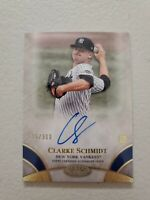 Clarke Schmidt 2021 Topps Tier One Break Out On Card Auto RC 285/300 NY Yankees