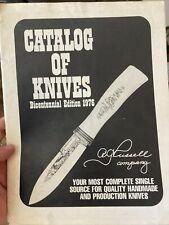 A.G. Russell Bicentennial Edition Pamphlet/mailer of Knives 16 Pages Paper