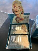 LOT OF 2 BOXES MARILYN MONROE Diamond Collectable Trading Cards Retail Display