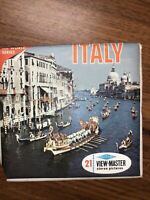 Sawyer's vintage B180 Italy Nations of the World Travel view-master reels packet