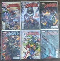 The New Avengers (2015) # 1-6 1st Prints Marvel Al Ewing Sandoval