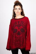 Jawbreaker Womens Ammonia Sweater  Alternative Gothic