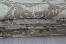 20 Yard Paisley Hand Made Block Print Fabric Indian 100% Cotton Crafting Fabric