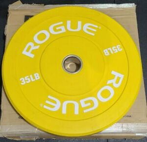 BRAND NEW ROGUE FITNESS Color Echo Bumper weight - SINGLE Plate 35lb