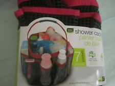 Shower Caddy Mesh 7 Pocket waterproof mesh material easy Carry Handle