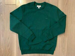 Lacoste Crewneck sweater green sz M