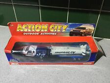 BOXED ACTION CITY REALTOY FORD F-150 TRUCK SPORT 4x4 & AIR STREAMER TRAILER