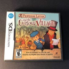 Professor Layton [ The Curious Village ] (DS) USED