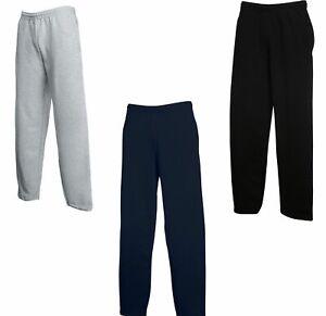 Bas de Jogging Molletoné Homme bas Droit taille elastique Neuf M/ L/XL /XXL/XXXL