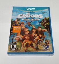 Croods: Prehistoric Party (Nintendo Wii U, 2013) Rare Brand New