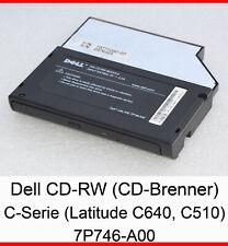 DELL CD-BRENNER LATITUDE C500 C600 C610 C510 C540 C640 CP CPT CPX CS WRITER D13