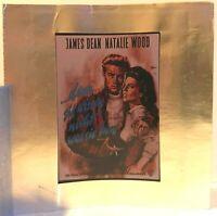 Kino # Film-Werbe-Dia # 85mm x 85mm # James Dean # denn sie wissen nicht was ...