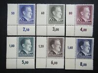 Germany Nazi 1942 1943 1944 Stamps MNH Adolf Hitler Generalgouvernement WWII Thi