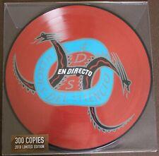 """HEROES DEL SILENCIO """" EN DIRECTO Vinyl LP  PICTURE DISC """""""