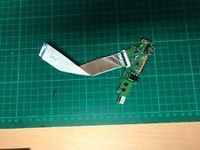 Lenovo Yoga 500-14ISK USB Card Reader Audio I/O PCB Board & Cable 448.03N01.011