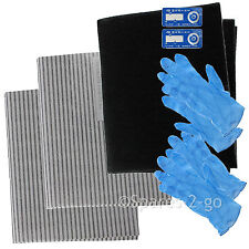 Cooker Hood Filter Kit for HYGENA Extractor Fan Vent Grease Carbon Filters