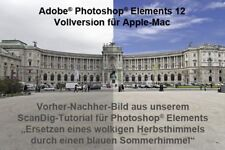 Adobe Photoshop Elements 12 Vollversion für Mac NEU (1066)