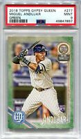 2018 Topps Gypsy Queen Green 277 Miguel Andujar Rookie PSA 9 MINT