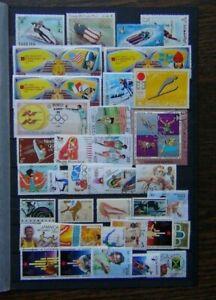 World range of Olympic Issues Middle East Fujeira Australia etc Used