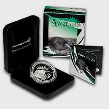 New Zealand - 2006 - Silver $1 Proof Coin-  1 OZ  Brown Kiwi