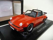 1:18 norev Porsche 911 3.3 turbo Targa 1987 red/rojo nuevo New