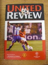 10/04/2002 Manchester United v Deportivo La Coruña Copa Europea []. este artículo es