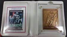 Highland Mint Collection Emmitt Smith 1990 Score Supplement RC Bronze #/5000