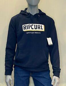 Rip Curl - Mens - Boxed Hooded Pop Over Fleece  - Hoodie - Navy - Surf Clothing