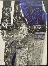 "Antoni Clave ""TROBADORS"" 1970 Hand Signed artist proof E.A. (épreuve d'artis) 11"